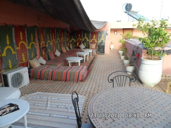 Riad El Sagaya: I loved just chilling out here, especially with the sun on your face or late at night.
