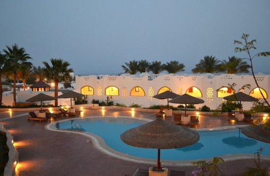 Domina Coral Bay Prestige Hotel: Vista dalla camera