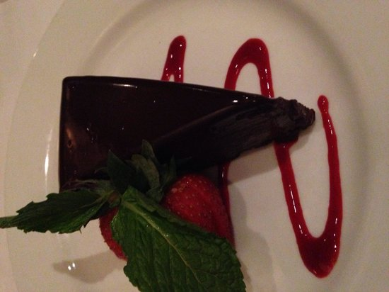 Ruth's Chris Steak House: THE most amazing dessert I have ever ate.