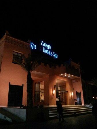 Zalagh Kasbah Hotel and Spa : Entrada