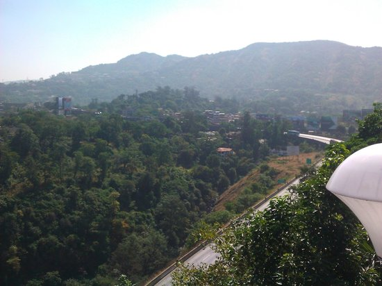 The Dukes Retreat: view from terrace