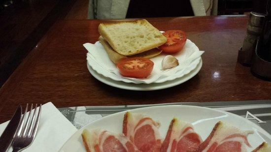 Restaurante Navarra: Jambon ibérique