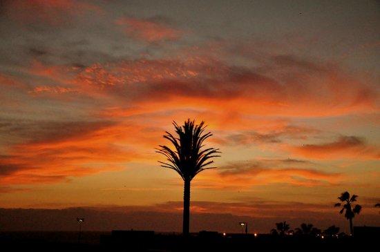 Ryad Mogador Al Madina: Una bonita puesta de sol.