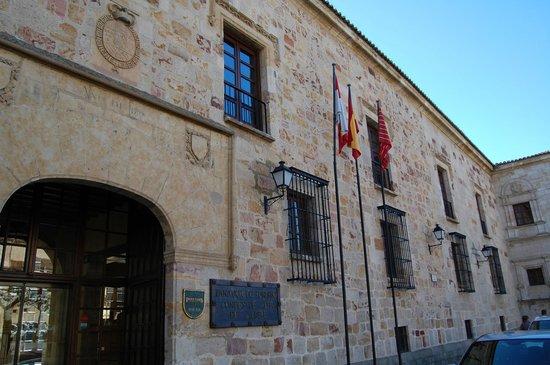 Parador de Zamora: fachada