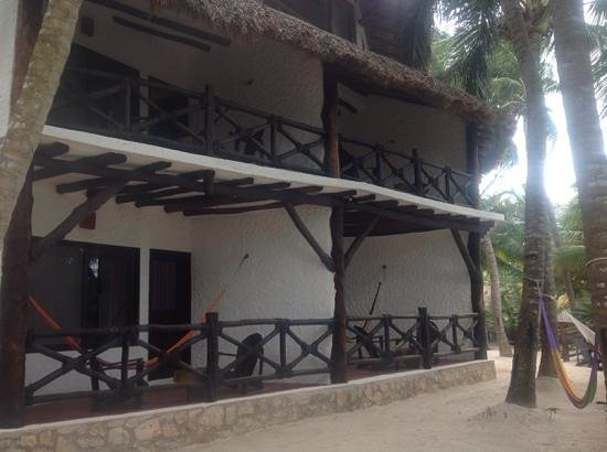 Beachfront Hotel La Palapa Adult Oriented : First 2 levels with private balconies end teraces