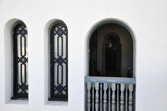 Ryad Mogador Al Madina: La habitacion vista desde la terraza del hotel.