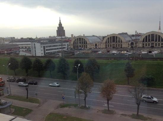 Hotel Avalon : Avalon Riga - View from the room