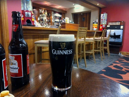 Aspect Hotel Kilkenny : first guinness in Ireland