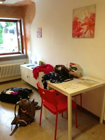 Mainstation Hostel : Our room
