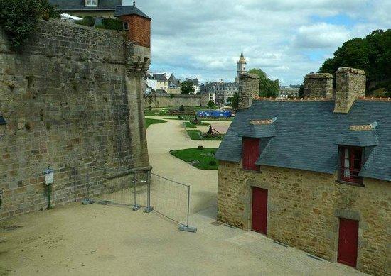Remparts de Vannes: Vannes: Francia: panoramica fortificazioni
