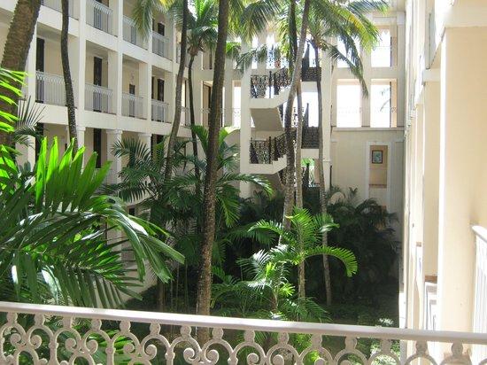 Hotel Riu Palace Punta Cana: Inner courtyard