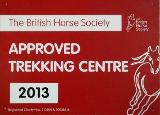 Peers Clough Farm: Pony trekking on site!