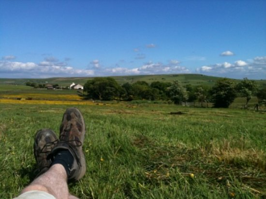 Peers Clough Farm: Come and put your feet up!