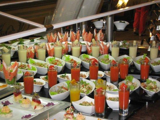 Hotel Riu Palace Punta Cana: Buffet