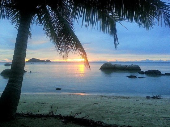Sea Scene Resort: magnifique coucher de soleil