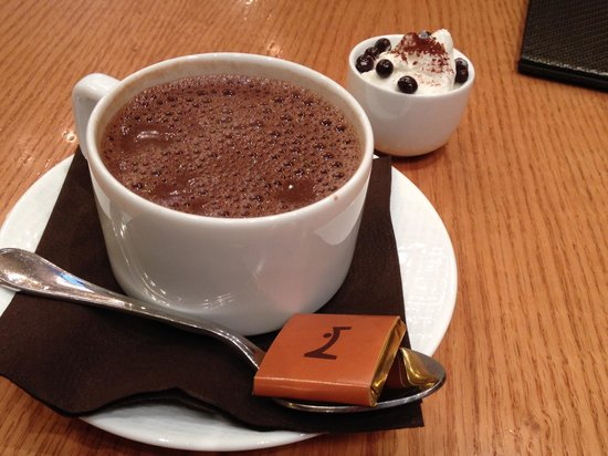 La Maison du Chocolat : Heavenly dark hot chocolate