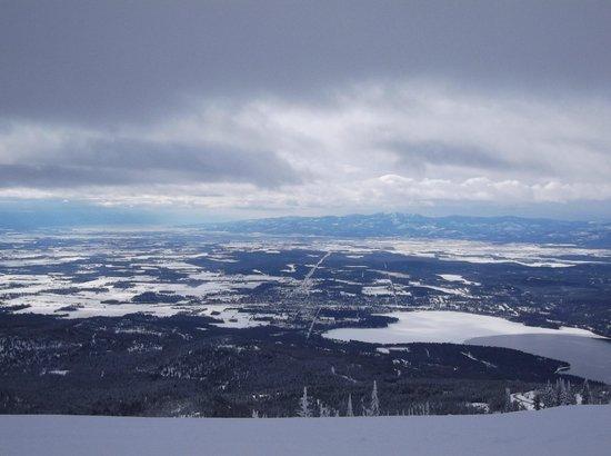 Whitefish Mountain Resort Lodging: beatiful view