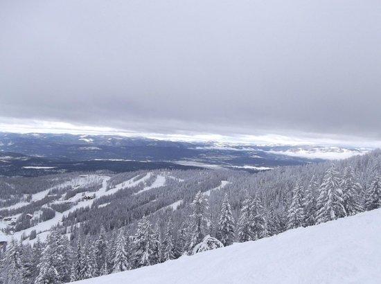 Whitefish Mountain Resort Lodging: view