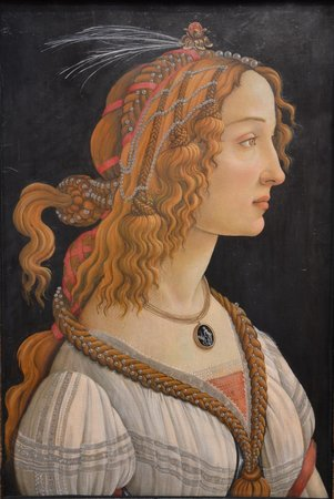 Staedel Museum : Bottichelli painting at Städel Museum Frankfurt Germany