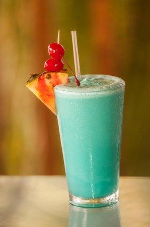 Blue Bahia Beach Grill: Frozen Blue Bahia