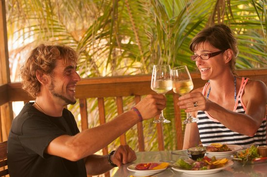 Blue Bahia Beach Grill: Try some of our wines!