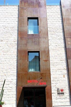 El Homs Palace: Esterno Hotel