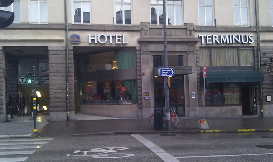 Hotel Terminus Stockholm: Esterno 1