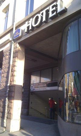 Hotel Terminus Stockholm: Esterno 3