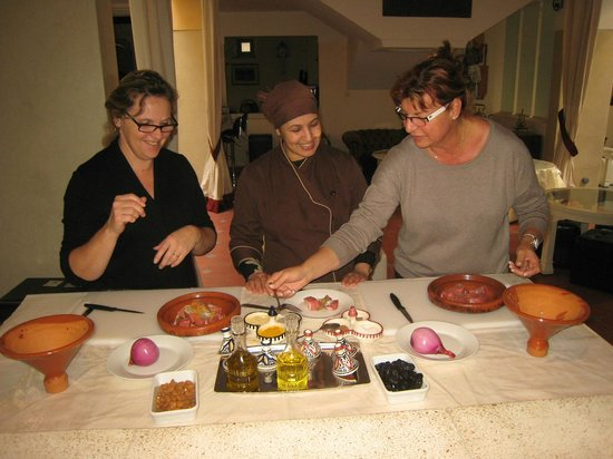 Riad Noos Noos: cooking lesson with Fati