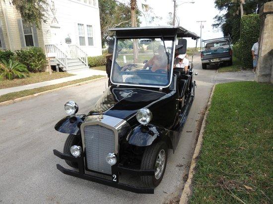 St. Augustine Vintage Car Tours: touring st.augustine