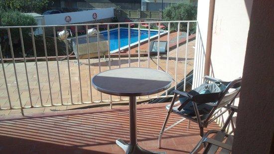 Hotel Coral: balcon