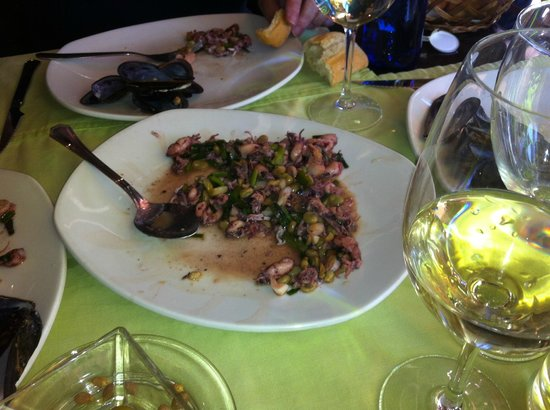 Restaurante Nagora: Entrante.