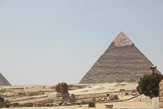 Mercure Cairo Le Sphinx: The view