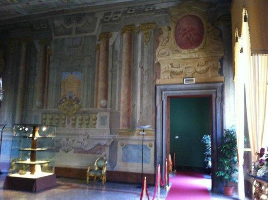 Lucca, Palazzo Pfanner, un interno