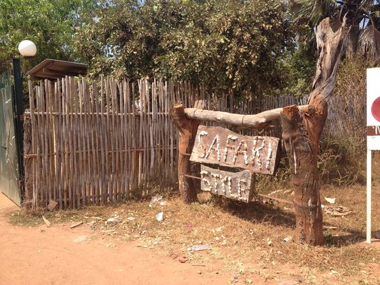 Rumbek, South Sudan: Entrance
