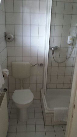 Vahrenwalder Hotel Hannover: Toilette