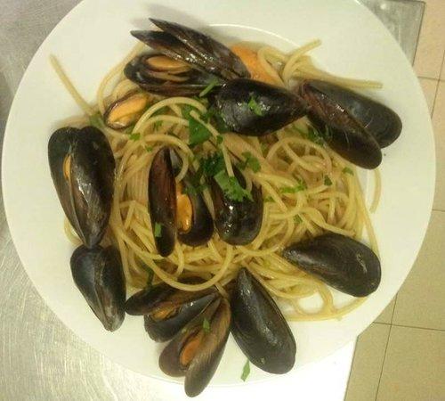 Celtic: Spaghetti alle cozze