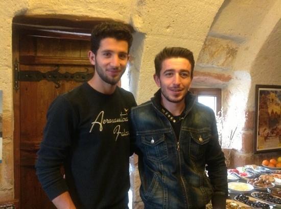 Safran Cave Hotel: staff