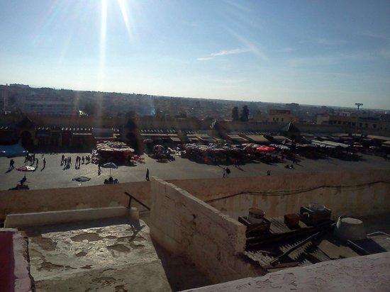 Riad Felloussia: Terrazza