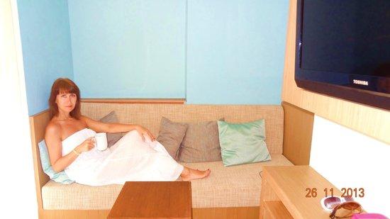 The ASHLEE Plaza Patong Hotel & Spa : в номере