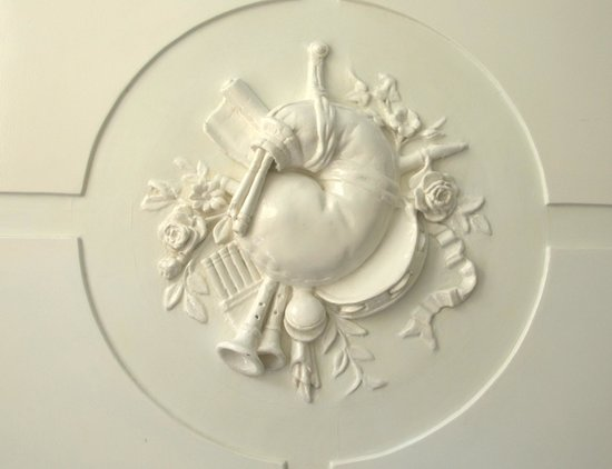 Appartement Maurits: music ornament hal