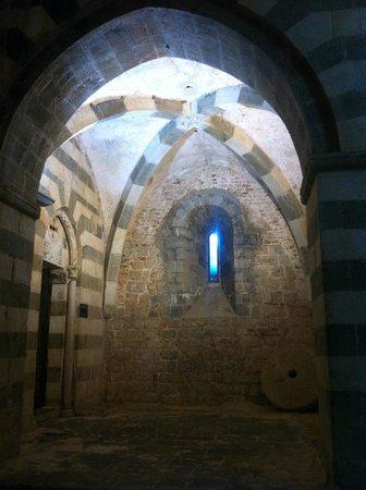 Castello di Lerici , interno