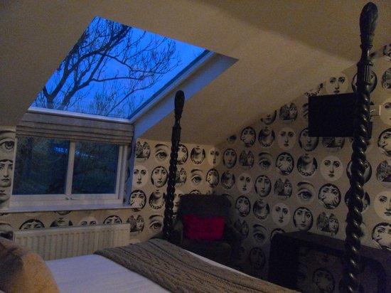The Cartford Inn: The stars through the skylight were an added bonus!