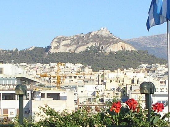 Stanley Hotel : Vista desde la terraza