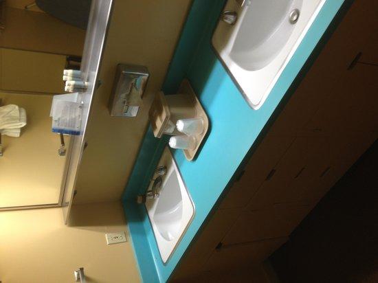 Asilomar Conference Grounds: Ye olde retro bathroom