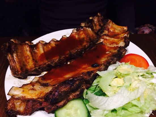 Chicano's: Unlimited spare ribs! Buonissime