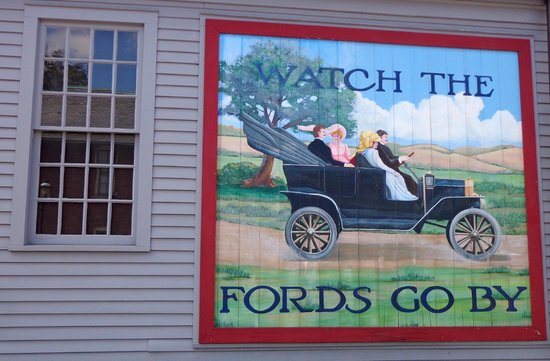 Greenfield Village: Publicite Ford-T