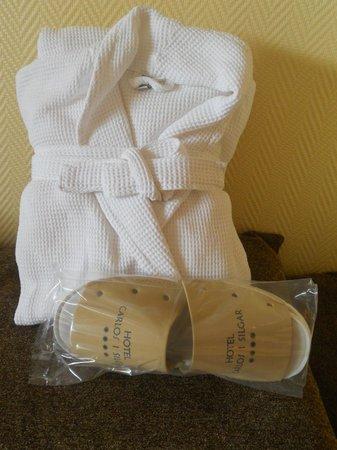 Hotel Carlos I Silgar: Kit Spa