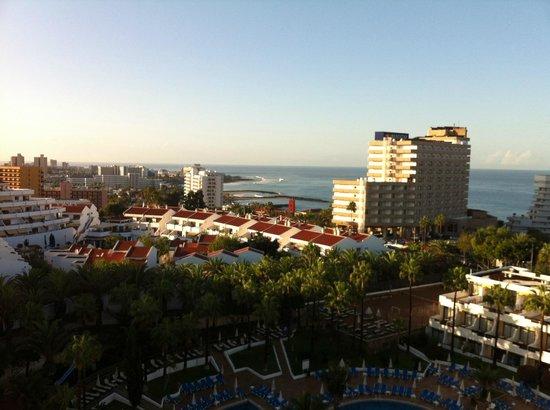 Iberostar Las Dalias: vue de notre balcon au 9eme etage: la mer