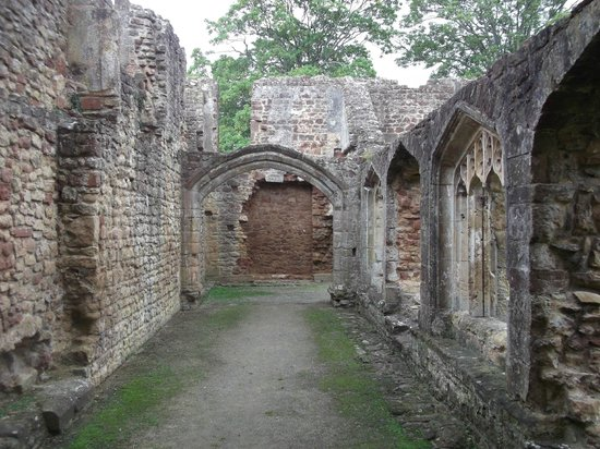 Cleeve Abbey,ruins.